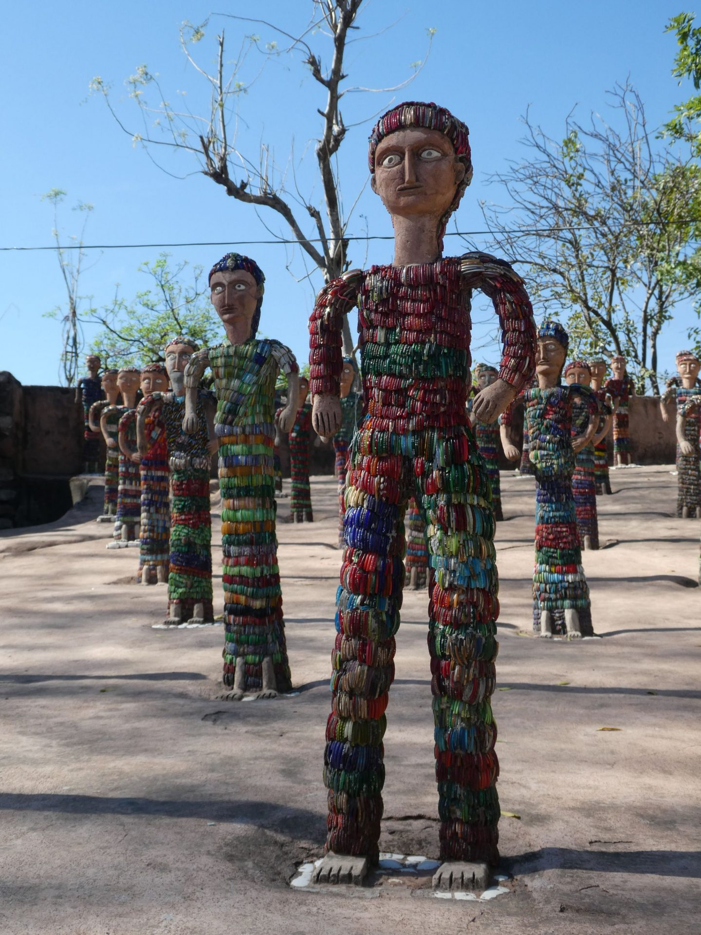 Nek Chand's Rock Garden, Chandigarh (7 March 2018)