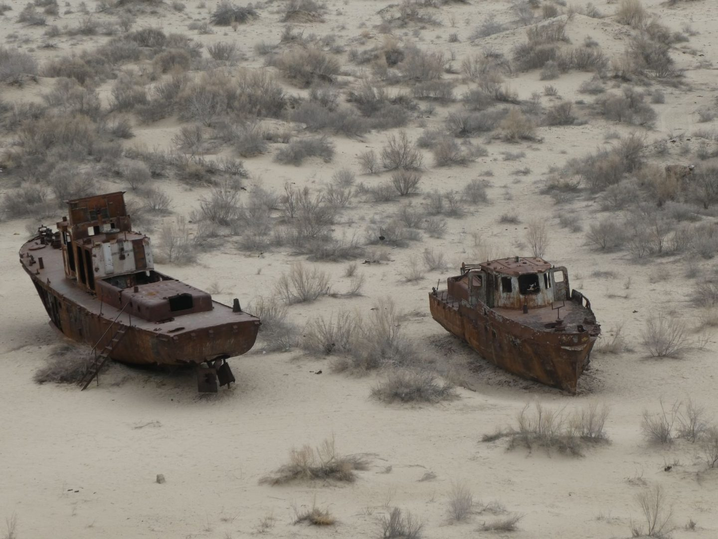 The Aral Sea (23 and 24 March 2018)