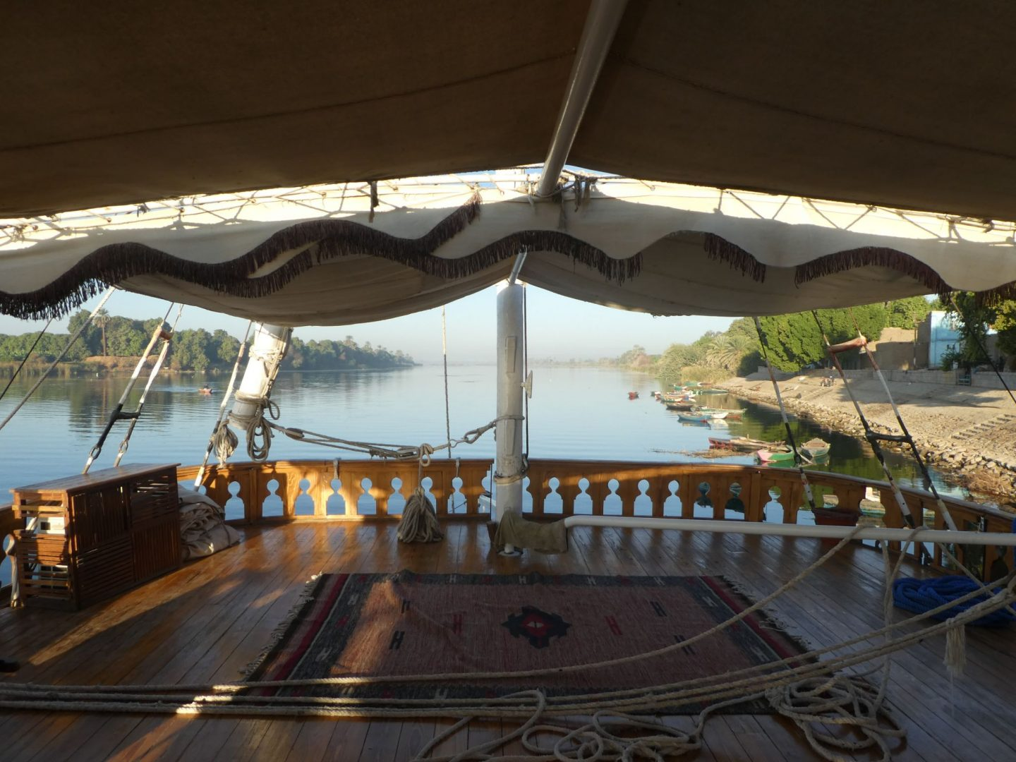 Nile River cruise + Aswan (13 to 21 December 2018)