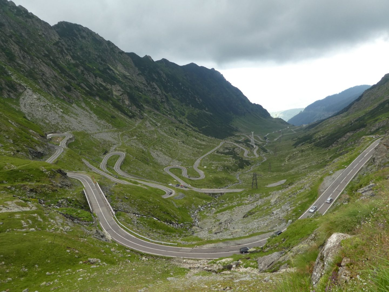Driving the Transfagarasan Highway
